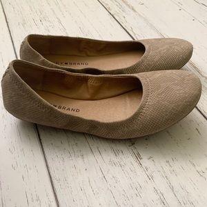 Lucky brand LK emmie ballet flats nwot 8.5